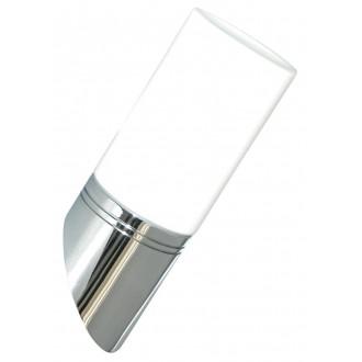 RABALUX 5828 | Lexo Rabalux fali lámpa 1x G9 IP44 króm, fehér