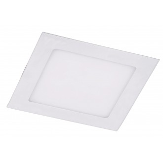 RABALUX 5878 | Miriam Rabalux beépíthető LED panel négyzet 170x170mm 1x LED 1235lm 4000K fehér