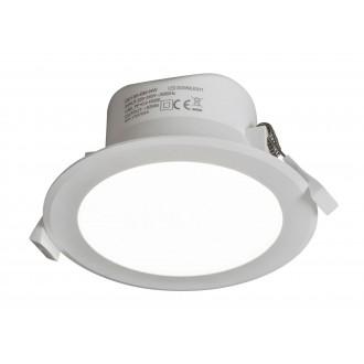 RABALUX 5899 | Christopher Rabalux beépíthető lámpa Ø113mm 113x113mm 1x LED 950lm 4000K IP44/20 fehér