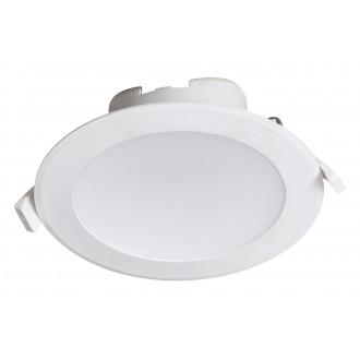 RABALUX 5900 | Christopher Rabalux beépíthető lámpa Ø145mm 145x145mm 1x LED 1330lm 4000K IP44/20 fehér