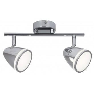 RABALUX 5932 | MartinR Rabalux spot lámpa elforgatható alkatrészek 2x LED 720lm 4000K króm, fehér