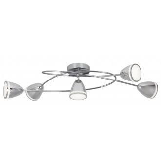 RABALUX 5936 | MartinR Rabalux spot lámpa 5x LED 1800lm 4000K króm, fehér