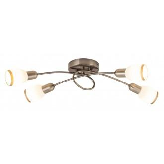 RABALUX 5973 | Elite Rabalux spot lámpa 4x E14 bronz, fehér