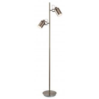 RABALUX 5985   Peter Rabalux álló lámpa 152,5cm vezeték kapcsoló elforgatható alkatrészek 2x E27 antikolt bronz