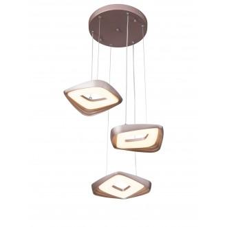 RABALUX 5990 | Daria-RA Rabalux függeszték lámpa 1x LED 2265lm 3000K arany, fehér