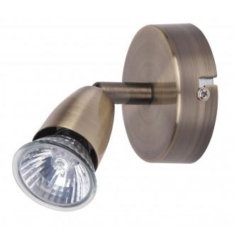 RABALUX 5995 | Norman Rabalux spot lámpa elforgatható alkatrészek 1x GU10 bronz
