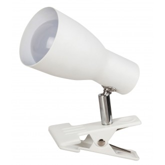 RABALUX 6026 | Ebony Rabalux spot lámpa vezeték kapcsoló elforgatható alkatrészek 1x E27 fehér
