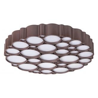RABALUX 6040 | Andela Rabalux függeszték lámpa kerek impulzus kapcsoló szabályozható fényerő 1x LED 2956lm 4000K arany, fehér