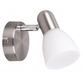 RABALUX 6301 | Soma2 Rabalux spot lámpa elforgatható alkatrészek 1x E14 szatén króm, fehér