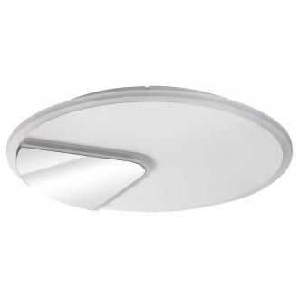RABALUX 6329 | Boswell Rabalux mennyezeti lámpa kerek 1x LED 2500lm 4000K fehér, króm, tükör