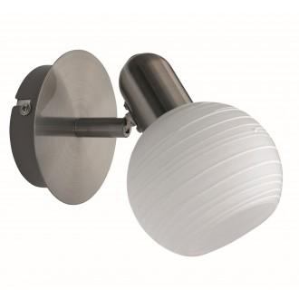 RABALUX 6341 | Aurel Rabalux spot lámpa elforgatható alkatrészek 1x E14 matt króm, fehér