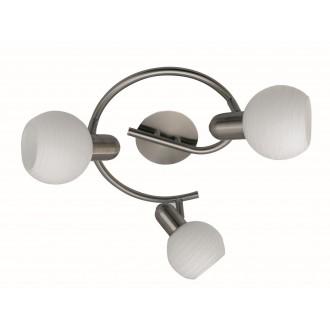 RABALUX 6343 | Aurel Rabalux spot lámpa elforgatható alkatrészek 3x E14 matt króm, fehér