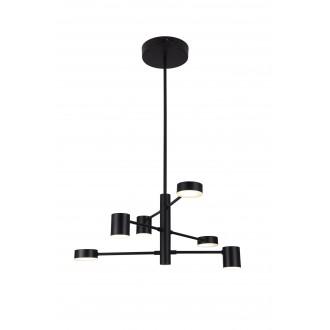RABALUX 6355 | Solomon Rabalux függeszték lámpa 1x LED 2400lm 4000K matt fekete, fehér