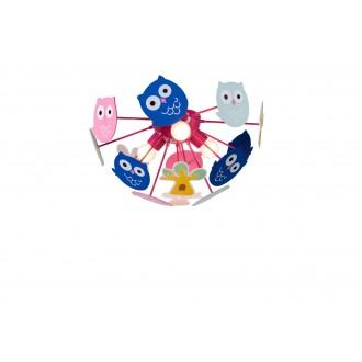 RABALUX 6389 | Birdy Rabalux mennyezeti lámpa 3x E14 többszínű