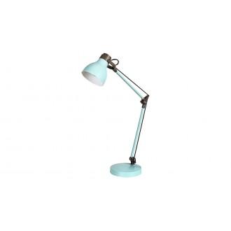 RABALUX 6409 | Carter-RA Rabalux asztali lámpa 58cm kapcsoló elforgatható alkatrészek 1x E14 menta, barna