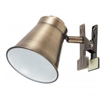 RABALUX 6520 | Martina Rabalux spot lámpa vezeték kapcsoló elforgatható alkatrészek 1x E27 bronz