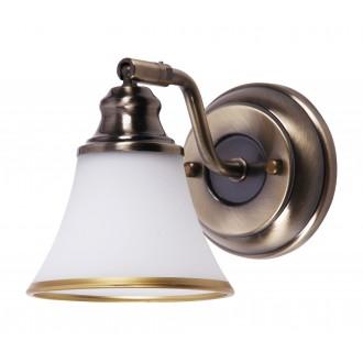 RABALUX 6545 | Grando Rabalux falikar lámpa elforgatható alkatrészek 1x E14 / R50 bronz, fehér