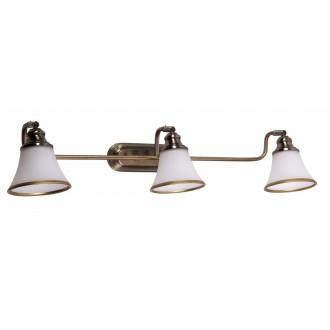 RABALUX 6547 | Grando Rabalux falikar lámpa elforgatható alkatrészek 3x E14 / R50 bronz, fehér