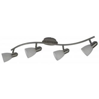 RABALUX 6638 | Harmony-lux Rabalux spot lámpa elforgatható alkatrészek 4x E14 matt króm, fehér mintás