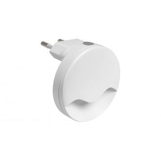 RABALUX 6709 | Lily-RA Rabalux éjjelifény lámpa fényérzékelő szenzor - alkonykapcsoló konnektorlámpa 1x LED 15lm 3000K fehér