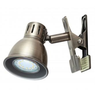 RABALUX 6718 | Ralph Rabalux spot lámpa vezeték kapcsoló elforgatható alkatrészek 1x GU10 bronz