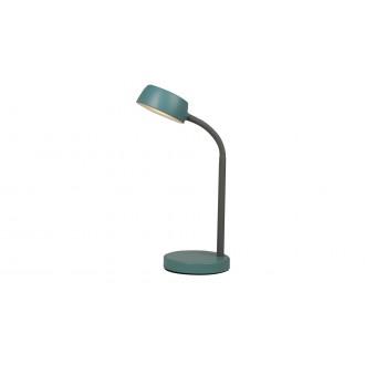 RABALUX 6780 | Berry-RA Rabalux asztali lámpa 35cm kapcsoló 1x LED 350lm 4000K kék, szürke