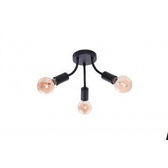 RABALUX 6808   Almus Rabalux mennyezeti lámpa flexibilis 3x E27 fekete