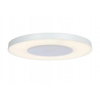 RABALUX 6880 | Milton-RA Rabalux mennyezeti lámpa kerek távirányító szabályozható fényerő 1x LED 2000lm 4000K fehér, opál