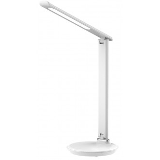 RABALUX 6979 | Osias Rabalux asztali lámpa 39,1cm fényerőszabályzós érintőkapcsoló szabályozható fényerő, állítható színhőmérséklet, elforgatható alkatrészek 1x LED 400lm 2700 <-> 6500K fehér