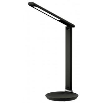 RABALUX 6980 | Osias Rabalux asztali lámpa 39,1cm fényerőszabályzós érintőkapcsoló szabályozható fényerő, állítható színhőmérséklet, elforgatható alkatrészek 1x LED 400lm 2700 <-> 6500K fekete