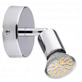 RABALUX 6986 | Norton Rabalux spot lámpa elforgatható fényforrás 1x GU10 220lm 3000K króm
