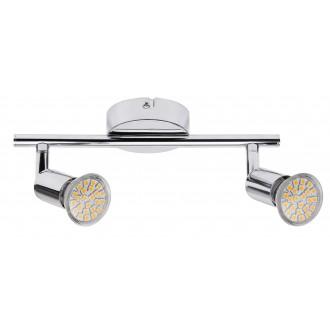 RABALUX 6987 | Norton Rabalux spot lámpa elforgatható fényforrás 2x GU10 440lm 3000K króm