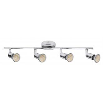 RABALUX 6988 | Norton Rabalux spot lámpa elforgatható fényforrás 4x GU10 880lm 3000K króm