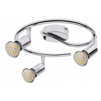RABALUX 6989 | Norton Rabalux spot lámpa elforgatható fényforrás 3x GU10 660lm 3000K króm