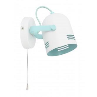 RABALUX 7012 | Minuet Rabalux spot lámpa elforgatható alkatrészek 1x E14 fehér, menta