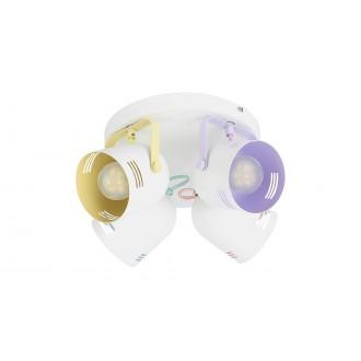 RABALUX 7014 | Minuet Rabalux spot lámpa elforgatható alkatrészek 4x E14 fehér, többszínű