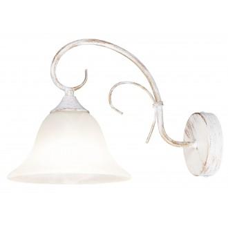 RABALUX 7186 | Katherine Rabalux fali lámpa 1x E27 antikolt fehér, alabástrom