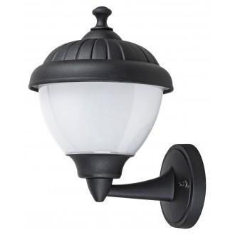 RABALUX 7672 | Modesto_RA Rabalux falikar lámpa 1x E27 IP44 UV fekete, fehér