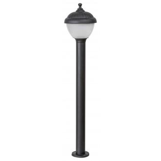 RABALUX 7676 | Modesto_RA Rabalux álló lámpa 80cm 1x E27 IP44 UV fekete, fehér