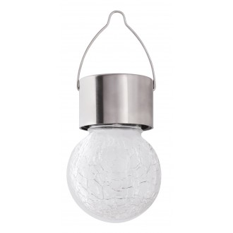 RABALUX 7850 | Yola-RA Rabalux hangulatvilágítás lámpa napelemes/szolár, színváltós 1x LED RGBK IP44 szatén króm