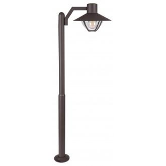 RABALUX 7886 | Almada Rabalux álló lámpa 103cm 1x E27 IP44 barna, átlátszó