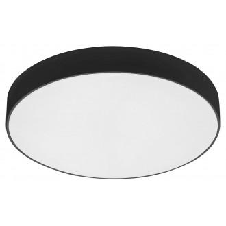 RABALUX 7898 | Tartu Rabalux mennyezeti lámpa kerek állítható színhőmérséklet 1x LED 2500lm 2800 - 4000 - 6000K IP44 matt fekete, fehér