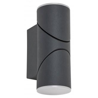 RABALUX 7904 | Belfast Rabalux falikar lámpa elforgatható alkatrészek 1x LED 620lm 3000K IP65 antracit, fehér