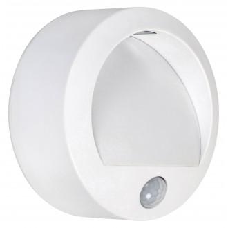 RABALUX 7980 | Amarillo Rabalux fali lámpa mozgásérzékelő elemes/akkus 1x LED 50lm 3000K IP44 fehér