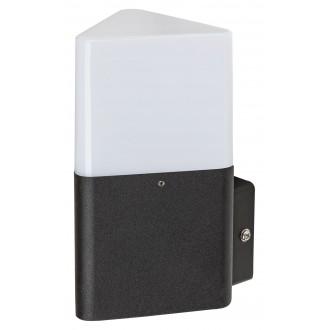 RABALUX 7988 | Zadar Rabalux fali lámpa 1x E27 IP44 UV fekete, fehér