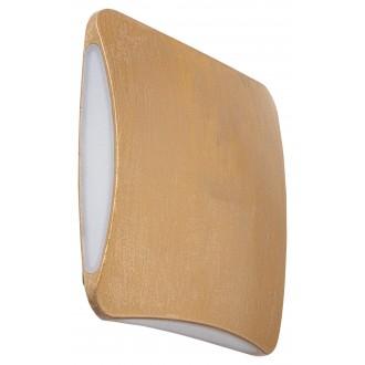 RABALUX 7999 | Reynosa Rabalux fali lámpa 1x LED 290lm 3000K IP44 UV arany okker
