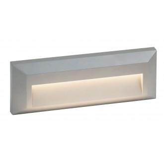 RABALUX 8011 | Pueblo Rabalux fali lámpa 1x LED 103lm 4000K IP65 UV szürke