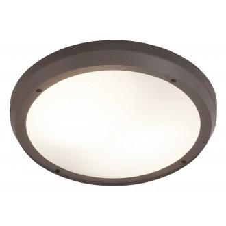 RABALUX 8049 | Alvorada Rabalux fali, mennyezeti lámpa 2x E27 IP65 UV antracit, fehér