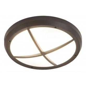 RABALUX 8050 | Alvorada Rabalux fali, mennyezeti lámpa 2x E27 IP65 UV antracit, fehér