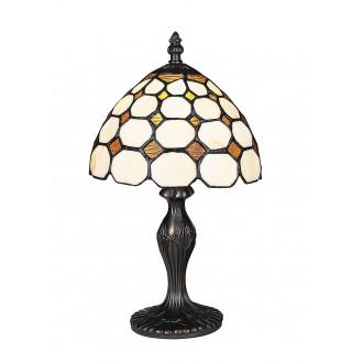 RABALUX 8072 | Marvel Rabalux asztali lámpa 36,5cm vezeték kapcsoló 1x E14 bronz, többszínű